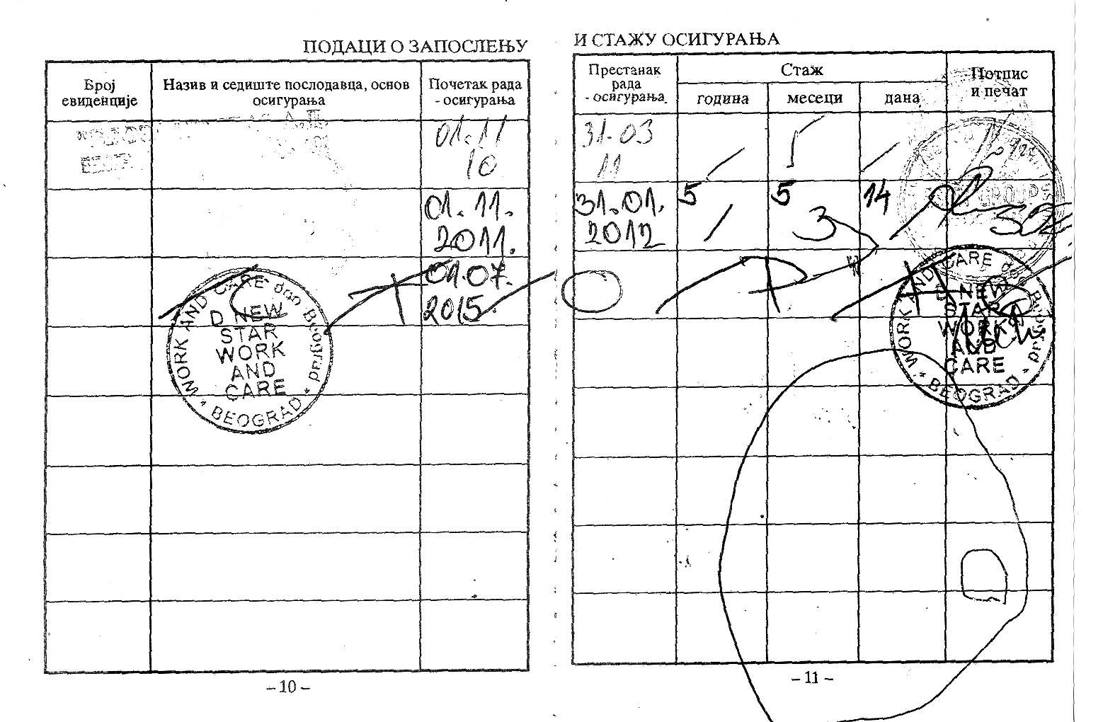 LINK 13 dokument Radna knjizica Kostin