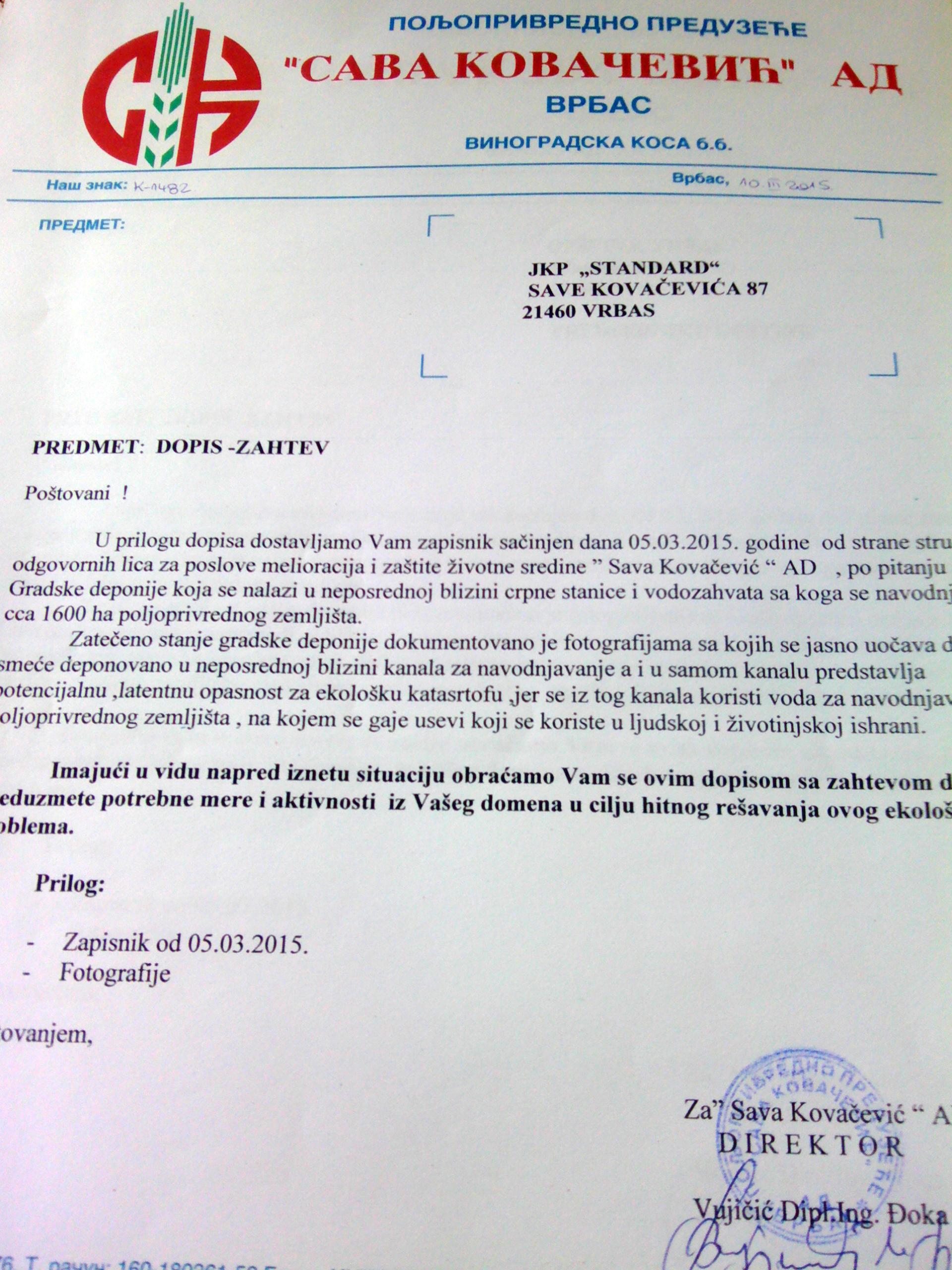 prilog 8 zahtev jkp pp sava kovacevic
